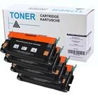 Set 4X alternatief Toner voor Lexmark C522