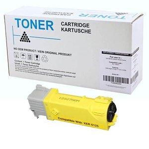 alternatief Toner voor Xerox Phaser 6130 geel