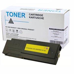 alternatief Toner voor Xerox Phaser 6600 Wc6605 geel