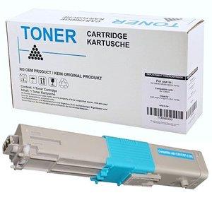 alternatief Toner voor Oki C301 C321 cyan