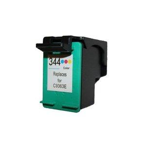 alternatief inkt cartridgee voor Hp 344 gekleurd wit Label