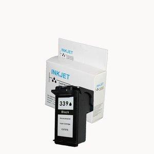 alternatief inkt cartridgee voor Hp 339 zwart wit Label