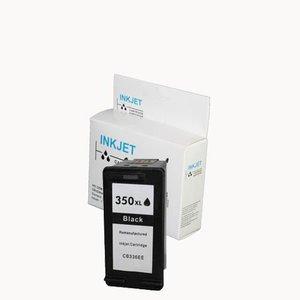 alternatief inkt cartridgee voor Hp 350Xl zwart wit Label