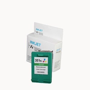alternatief inkt cartridgee voor Hp 351Xl gekleurd wit Label