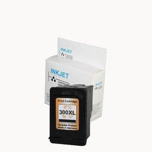 alternatief inkt cartridgee voor Hp 300Xl zwart met niveau-indicator wit Label