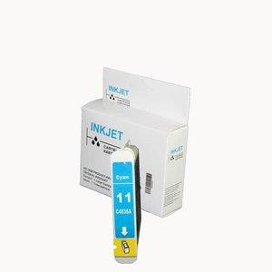 alternatief inkt cartridgee voor Hp C4836A Nr.11 cyan wit Label