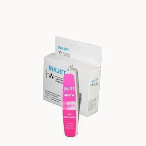alternatief inkt cartridgee voor Hp (C4837A) Nr.11 magenta wit Label