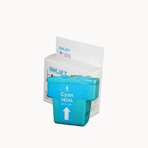 inkt cartridge compatibel voor Hp 8771E 02 363 cyan wit Label