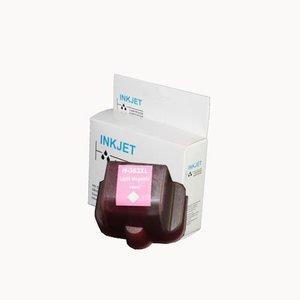inkt cartridge compatibel voor Hp C8775E 02 363 magenta light wit Label