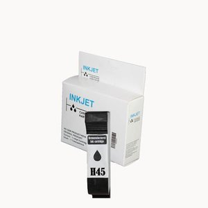 inkt cartridge compatibel voor Hp 51645A Nr.45 wit Label