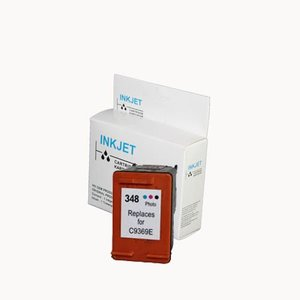 alternatief inkt cartridge voor Hp 348 foto wit Label