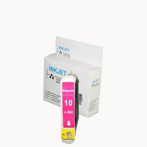 alternatief inkt cartridgee voor Hp 10 magenta wit Label