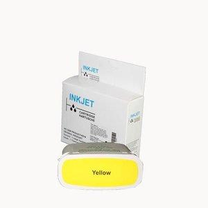 alternatief inkt cartridge voor Hp 82 geel wit Label