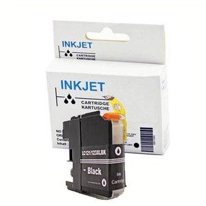 alternatief inkt cartridge voor Brother Lc121 Lc123Xl zwart (met chip)