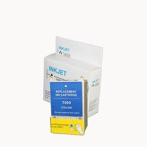 alternatief inkt cartridge compatibel voor Epson T009 gekleurd wit Label