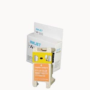 alternatief inkt cartridge compatibel voor Epson T017 zwart wit Label