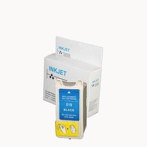 2 STUKS alternatief inkt cartridge compatibel voor Epson T019 zwart wit Label