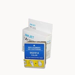 2 stuks alternatief inkt cartridge compatibel voor Epson To520, S020089/S020191/T014 gekleurd wit