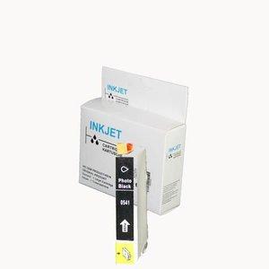 alternatief inkt cartridge compatibel voor Epson T0541 zwart wit Label
