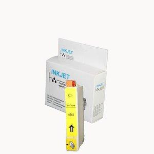 alternatief inkt cartridge compatibel voor Epson T0544 geel wit Label