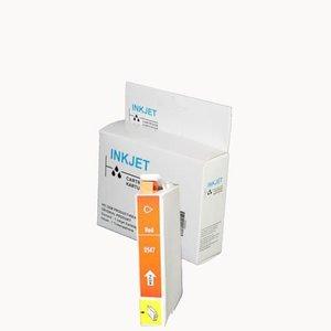 alternatief inkt cartridge compatibel voor Epson T0547 Rood wit Label