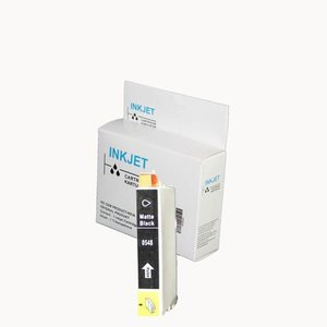alternatief inkt cartridge compatibel voor Epson T0548 zwart mat wit Label