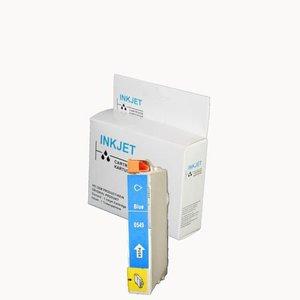 alternatief inkt cartridge compatibel voor Epson T0549 blauw wit Label