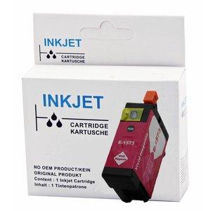 alternatief inkt cartridge voor Epson T1573 Stylus foto R3000 magenta