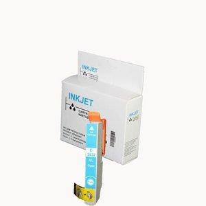 alternatief inkt cartridge voor Epson 27 27Xl cyan wit Label
