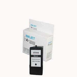 alternatief inkt cartridgel voor Dell 922 J5566 zwart wit Label