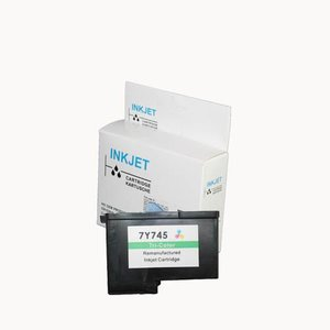 alternatief inkt cartridge voor Dell 7Y745 Colour wit Label