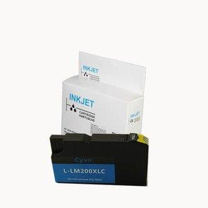 alternatief inkt cartridge voor Lexmark 200 210 Xl Office Edge Pro 4000 cyan