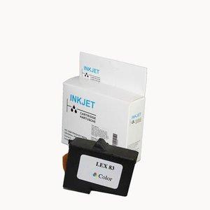 alternatief inkt cartridge voor Lexmark 83 Colour wit Label