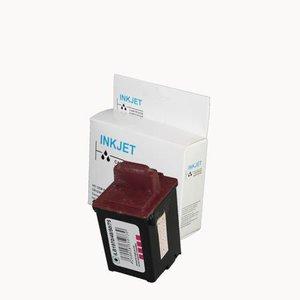 alternatief inkt cartridge voor Lexmark 13619 Colour wit Label