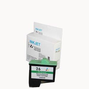 alternatief inkt cartridge voor Lexmark 26 / 27 / Dell T530 wit Label