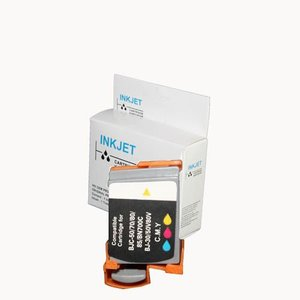Set compatibel 6 inkt cartridges BCI-10 BCI-11 zwart BCI-11 kleur