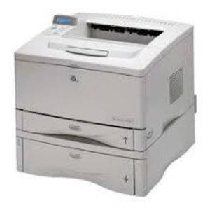 HP laserjet 5000tn A3 A4 zwart wit laserprinter Met extra lade