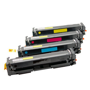 compatible toner voor HP 203x cf540x cf543x KCMY toner set!