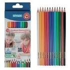 Kleur- En Tekenmateriaal | Kleurpotloden - Driek.-Kleurpotl. 12st Lang