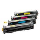 compatible toner voor  Canon 054H complete tonerset 3 kleuren 1 zwart