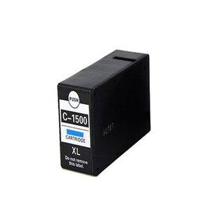 alternatief inkt cartridge voor Canon PGI-1500XL cyan