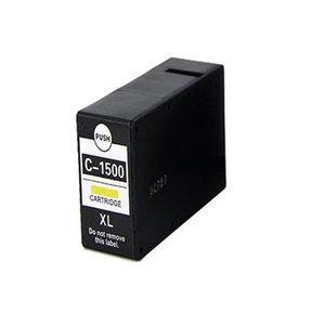 alternatief inkt cartridge voor Canon PGI-1500XLgeel
