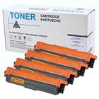 Set 4x alternatief Toner voor Brother TN242 TN246 HL3142CW