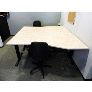 Duo werkplek inclusief 2 stoelen