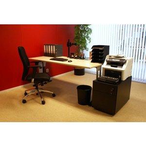 Complete werkplek bestaande uit Bureau bureaustoel en ladeblok
