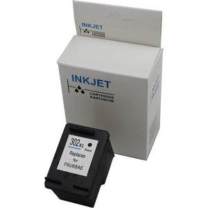 Hp 302XL zwart 18 ml (met niveau-indicator) alternatief inkt cartridge