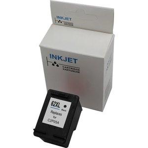 alternatief inkt cartridge voor Hp 62XL zwart 18 ml inhoud maar liefst