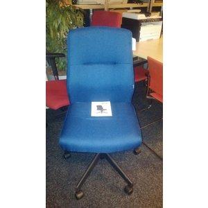 Stanley rs to go Donkerblauwe bureaustoel zonder armleggers