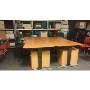 ASPA bureau + bureaustoel + ladeblok SUPERDEAL !