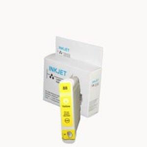 alternatief inkt cartridge voor Hp 88XL geel wit Label EXTRA VEEL INHOUD